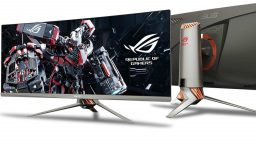 Asus Republic of Gamers annuncia il monitor curvo Swift PG348Q
