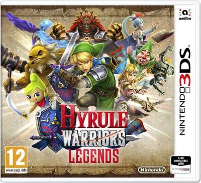 Hyrule Warriors Legends cover