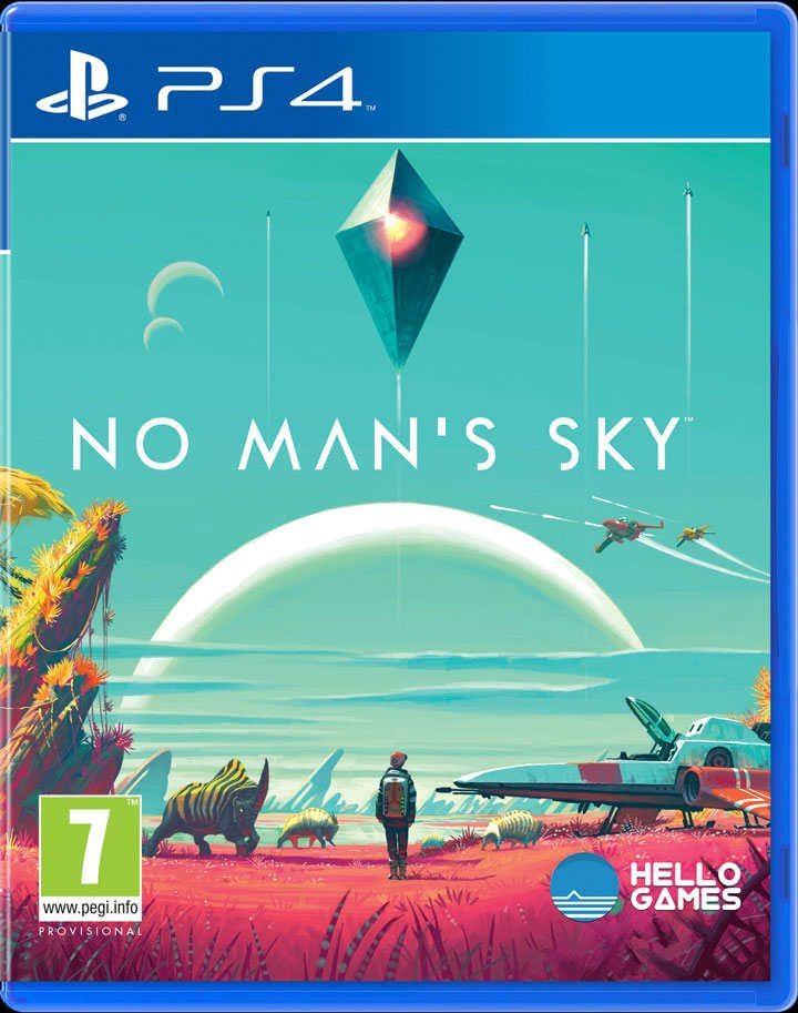 La copertina di No Man'™s Sky per Xbox One svela il multiplayer?