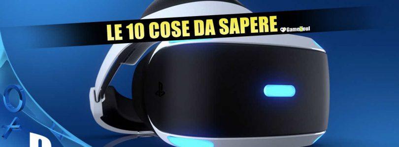 PlayStation VR: 10 cose da sapere sul visore Sony