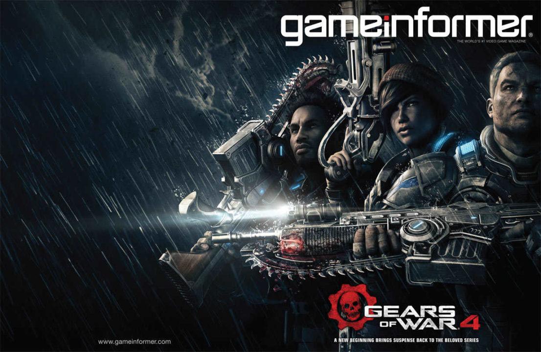 Gears of War 4 sulla nuova cover di GameInformer