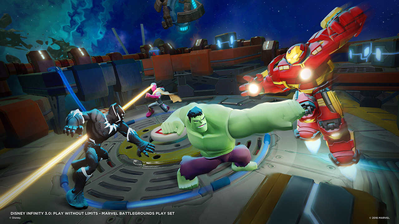Disney Infinity 3.0: Marvel Battlegrounds – Recensione