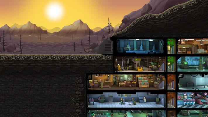 Fallout Shelter, update con nuove stanze e pappagalli