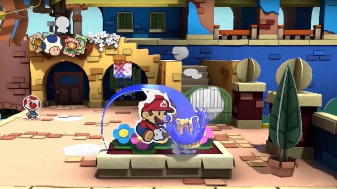 Paper Mario: Color Splash annunciato ufficialmente