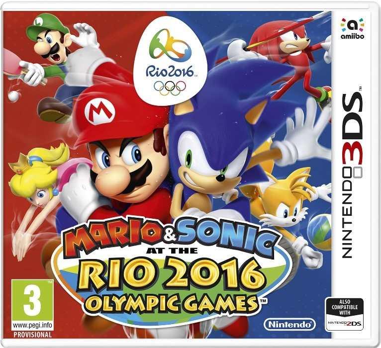Mario e Sonic ai Giochi Olimpici di Rio 2016 Cover