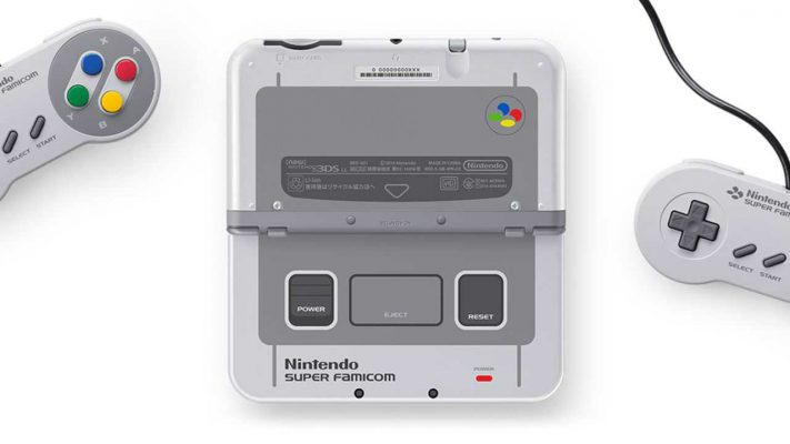 Il New 3DS XL si tinge di Super Famicom