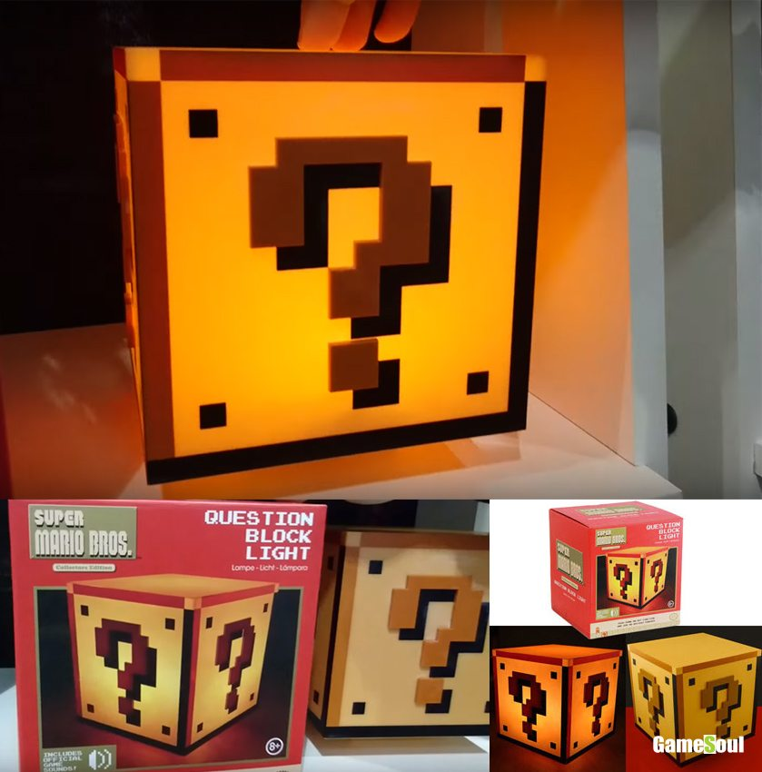 All You Can Loot - lampada super mario
