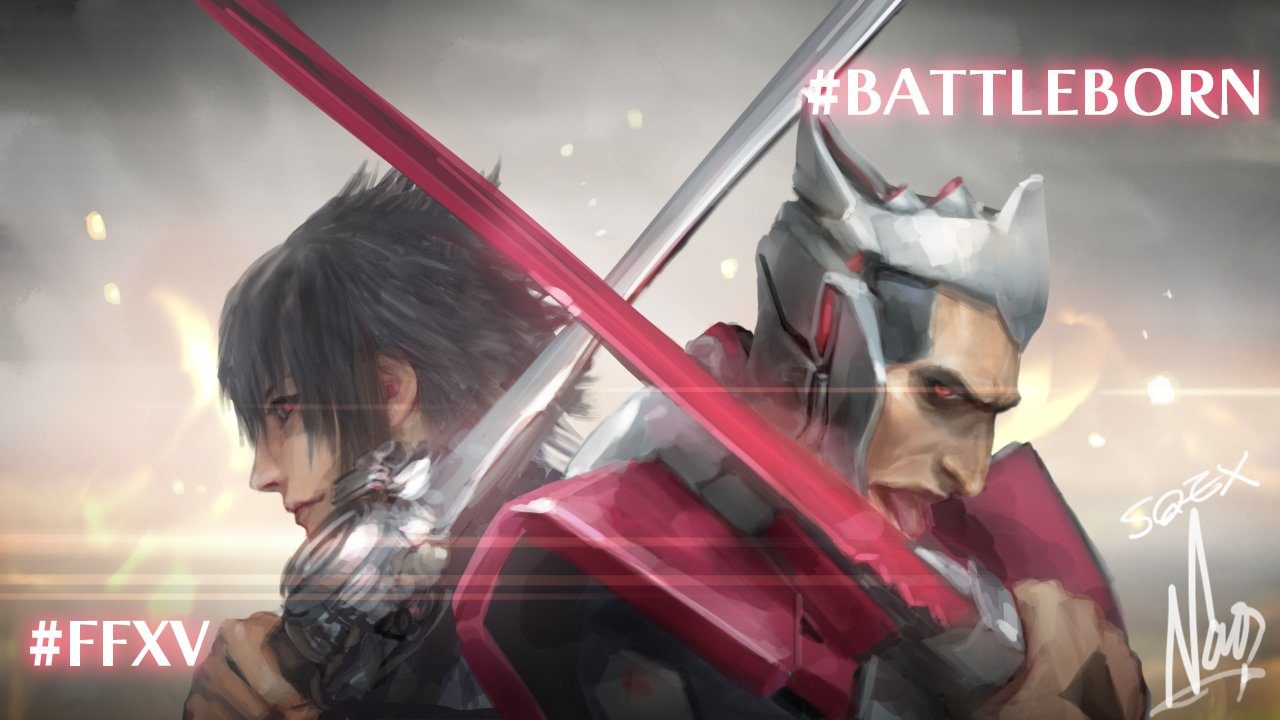 Final Fantasy XV e Battleborn si incontrano in due artwork