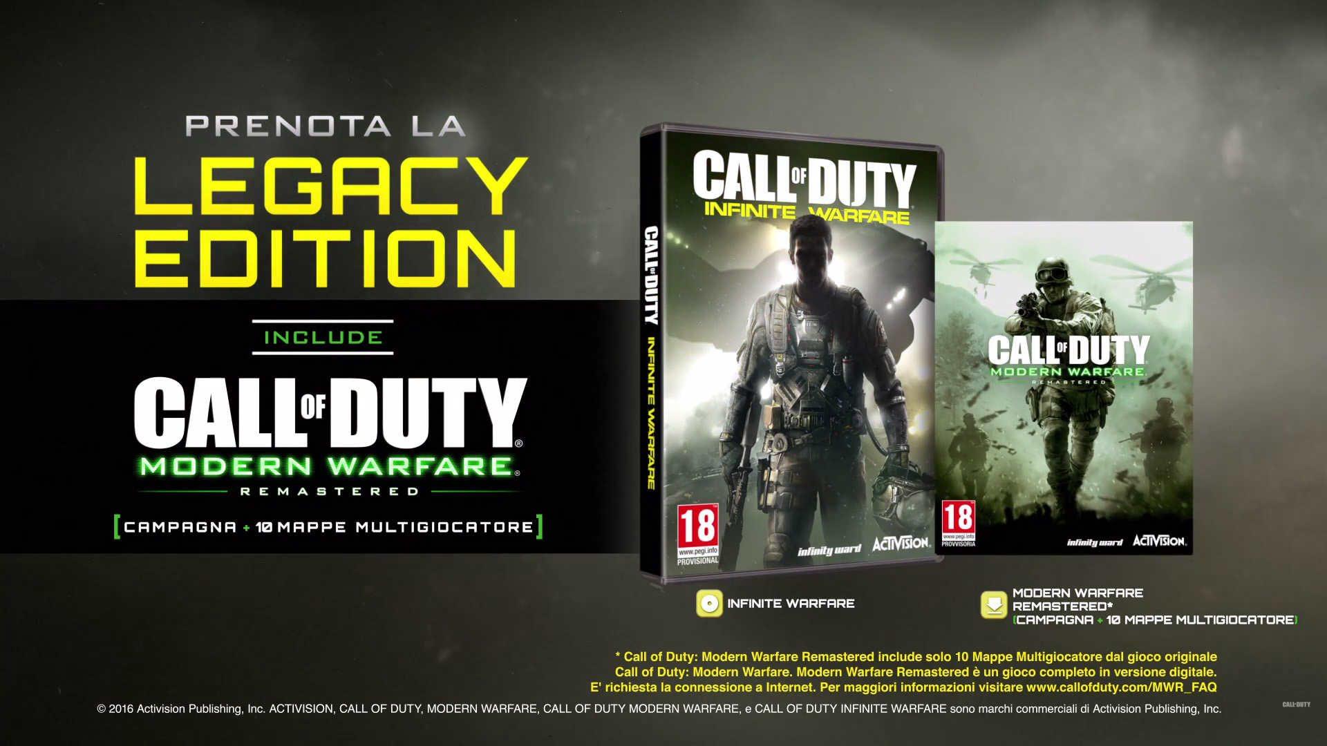 Call of Duty Infinite Warfare Legacy Edition