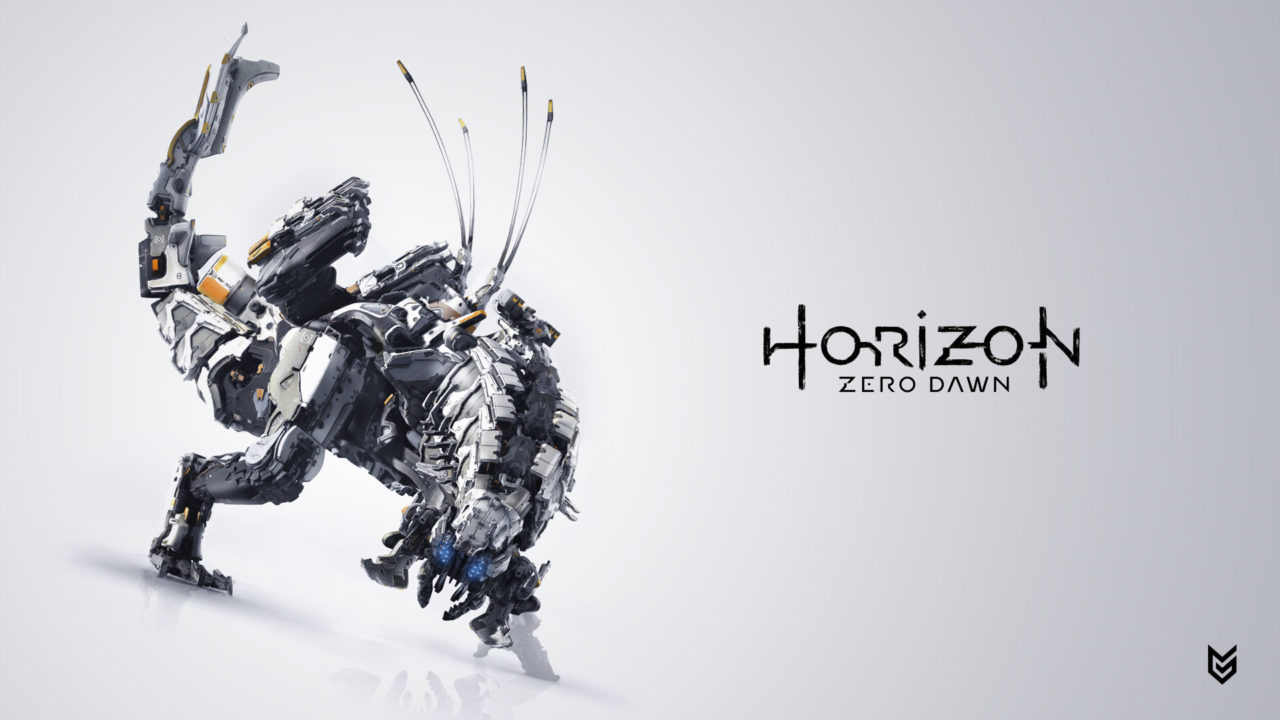 Un maxiposter di Horizon: Zero Dawn a Los Angeles