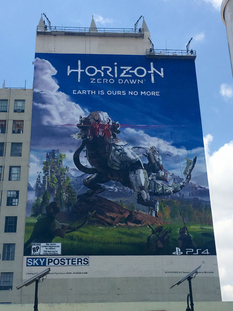 horizon-zero-dawn-poster-los-angeles-gamesoul