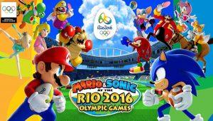 Mario e Sonic ai Giochi Olimpici di Rio 2016 banner
