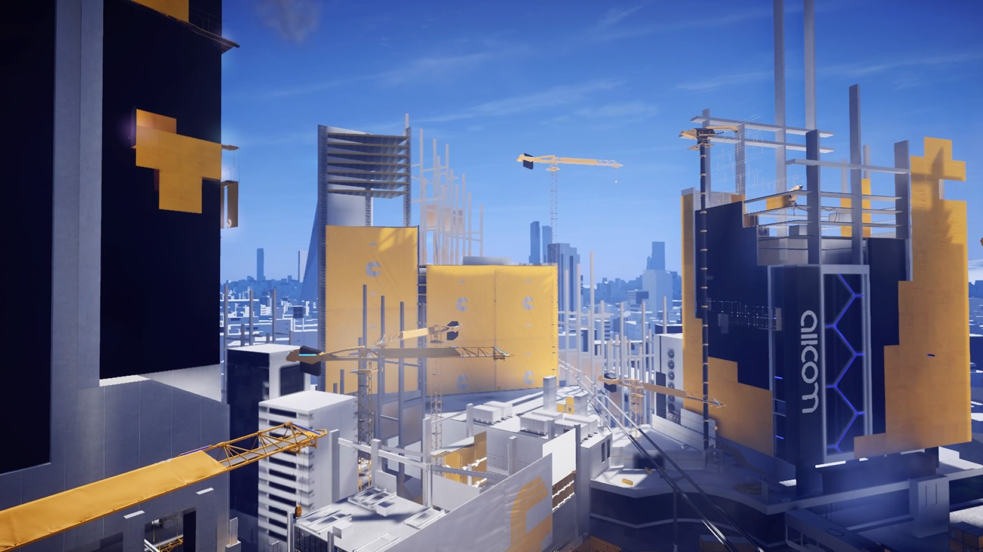 mirror's edge catalyst city