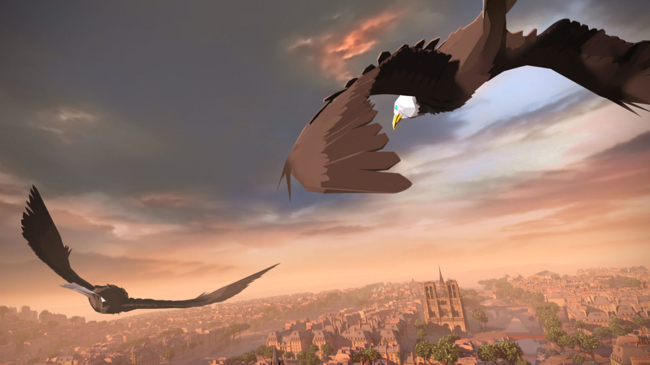 Eagle Flight: Il multiplayer su VR