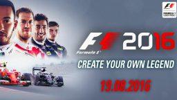 F1 2016: svelata la data d'uscita!