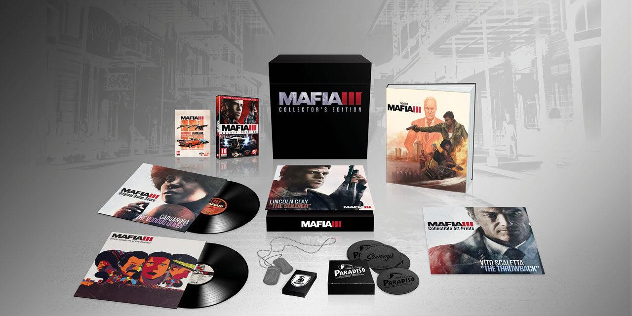 Mafia III, ecco l'edizione da collezione!