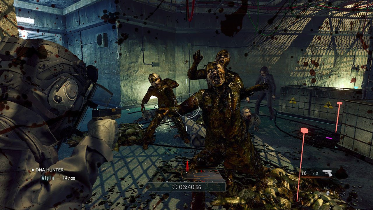 Umbrella Corps zombies