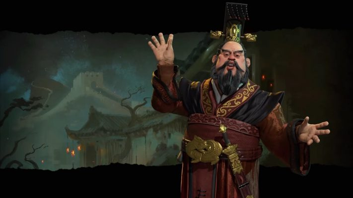 Qin Shi Huang guiderà la Cina in Civilization VI