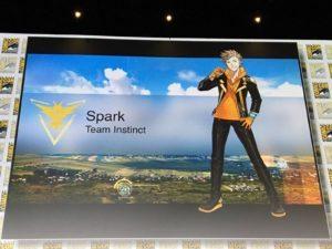 Pokémon GO Team Leader Spark