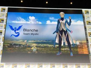 Pokémon GO Team Leader Blanche