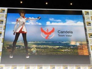 Pokémon GO Team Leader Candela