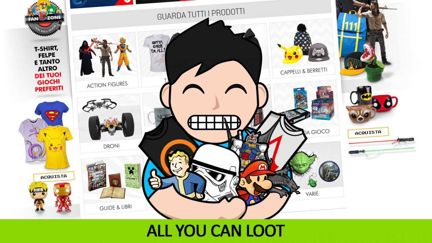 All You Can Loot  Speciale Black Weekend GameStop  a4dc05c8de78