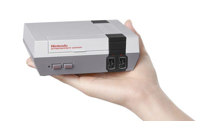 La nuova versione del NES spopola nel Regno Unito