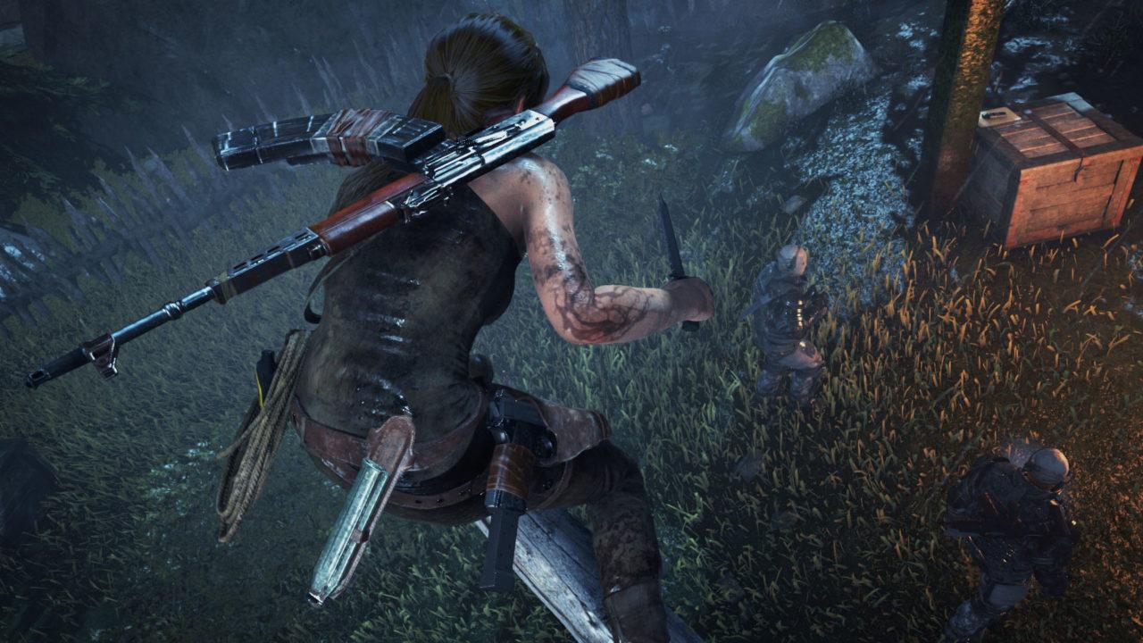 Rise of the Tomb Raider arriva su PlayStation 4