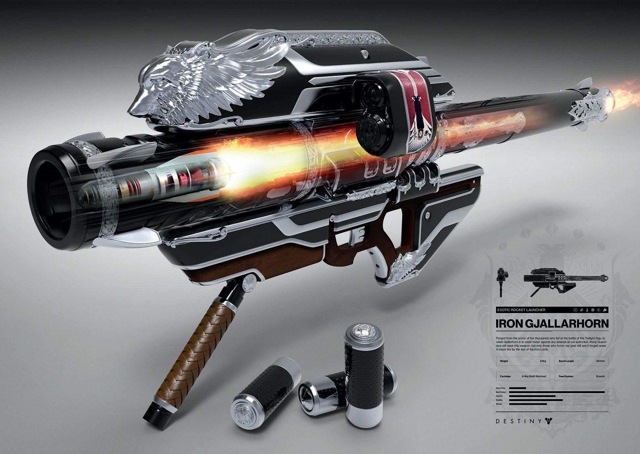 Destiny Gjallarhorn del Ferro