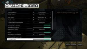 Deus Ex Mankind Divided - Impostazioni Grafiche PC - 2