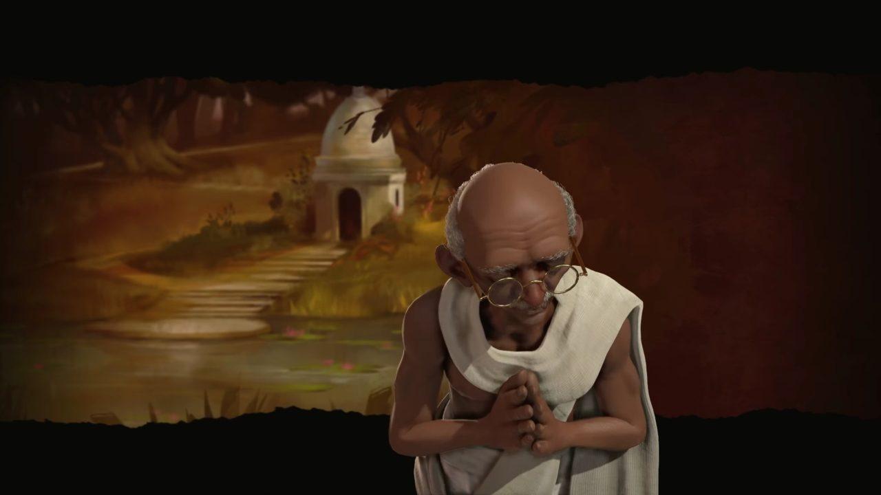 Gandhi guiderà l'India in Civilization VI