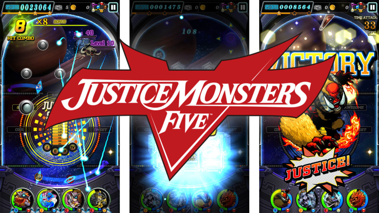 Justice Monsters Five è disponibile. Ecco il trailer di lancio