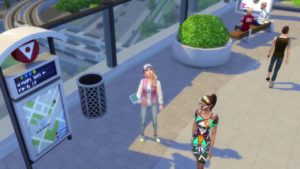 City Living The Sims 4