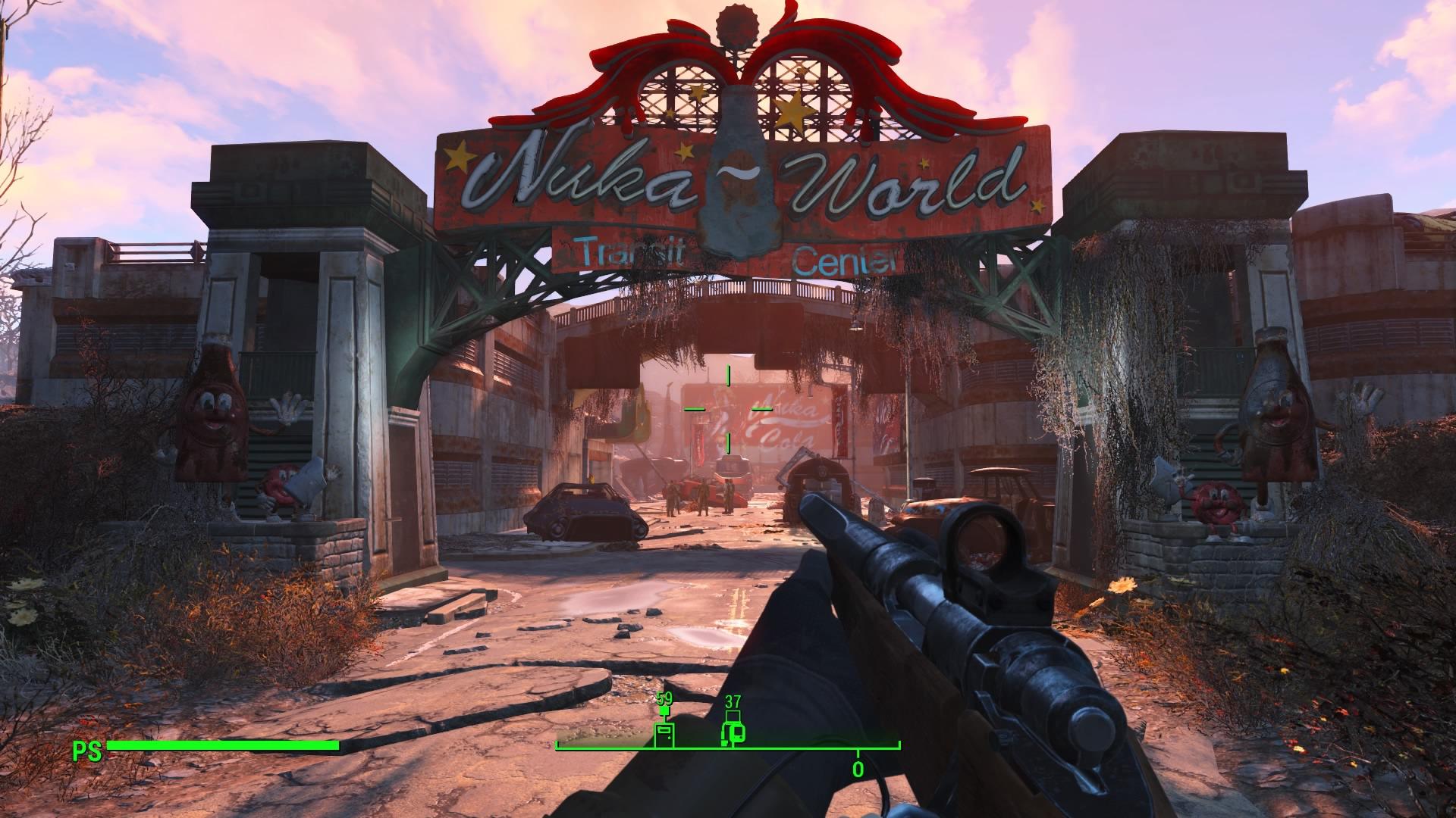 Fallout 4 Nuka World Enter