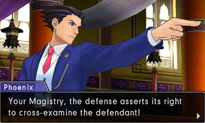 Phoenix Wright Ace Attorney Spirit of Justice objection