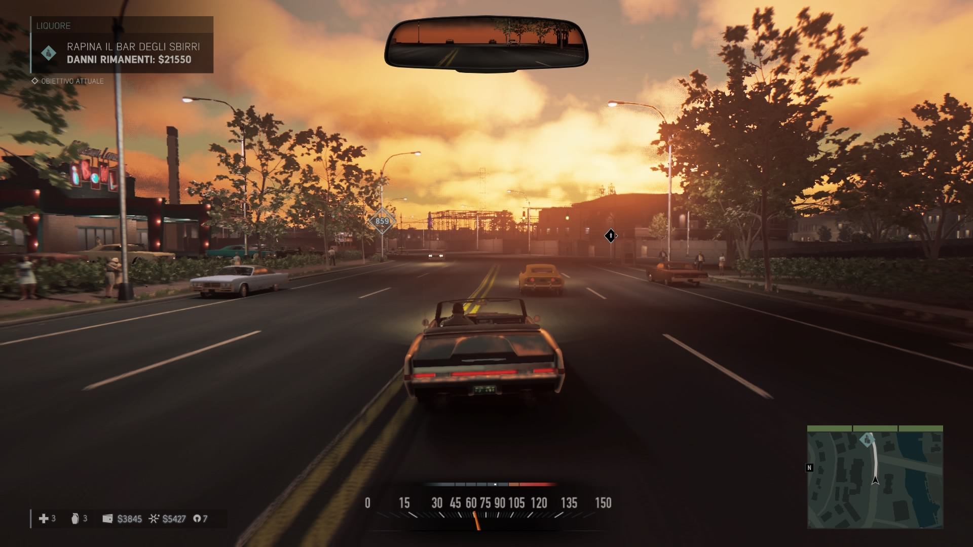 Mafia III driving