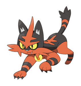 pokémon sole e luna torracat