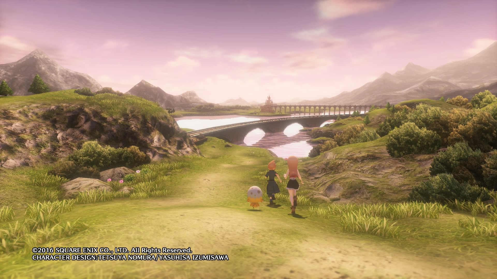 world of final fantasy first world