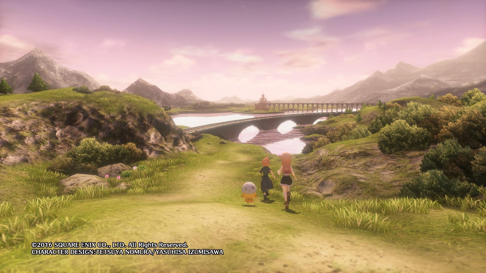 world of final fantasy first world