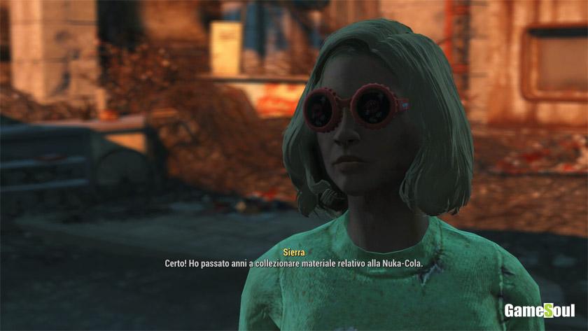 Fallout 4: Guida ai Cappy - Sierra
