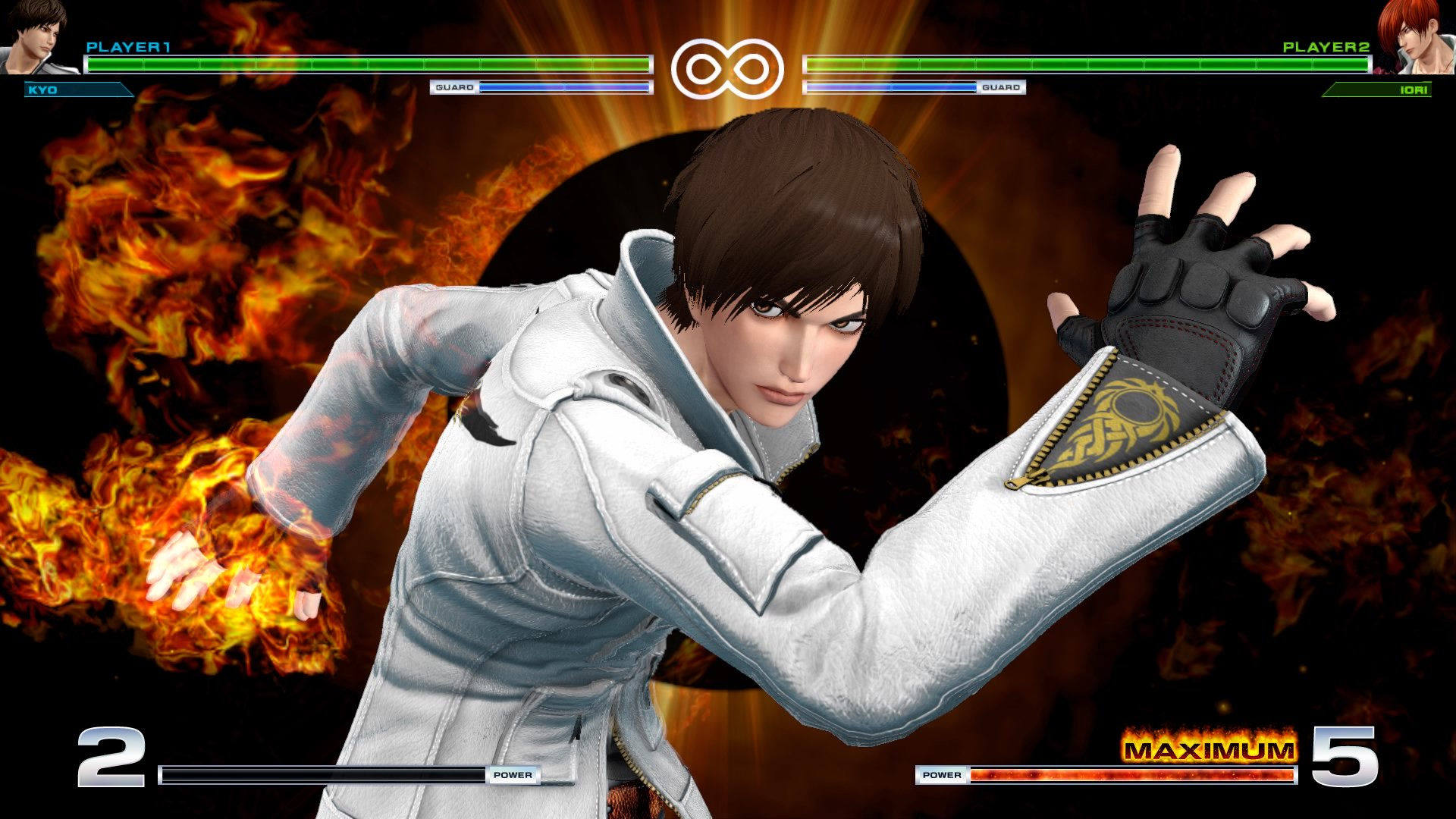 king-of-fighter-annuncio-patch-grafica-gamesoul