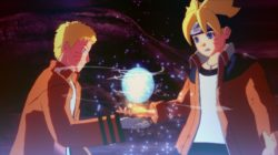 "Vecchie conoscenze negli screen ""Momoshiki fight"" di Road to Boruto"