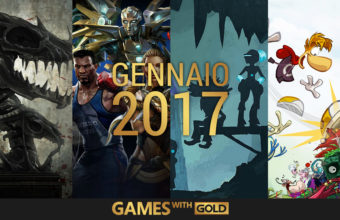 Games with Gold: annunciati i titoli di gennaio 2017