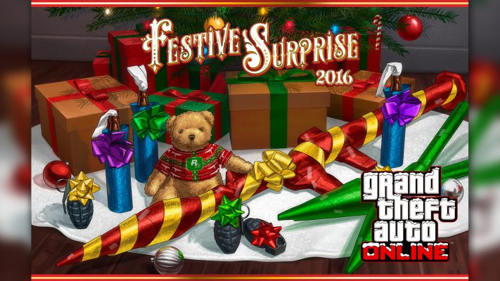 GTA Online: arriva la Sorpresa Natalizia 2016