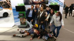 Zombies terrorizzano il MotorShow di Bologna