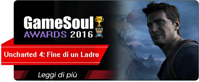 gsa16nominee-uncharted-4 gamesoul awards 2016