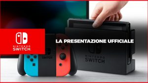 Rivedi la presentazione di Nintendo Switch in Italiano