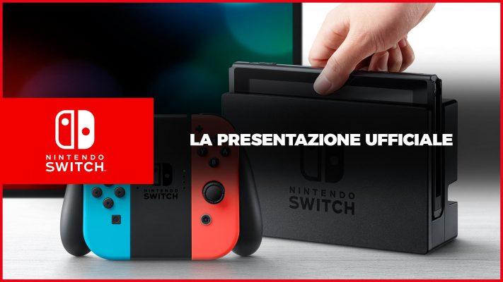 Rivedi la presentazione di Nintendo Switch in Italiano