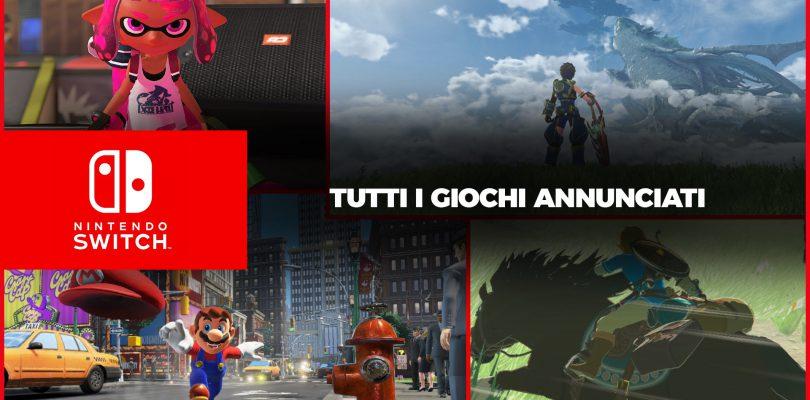 I Giochi di Nintendo Switch