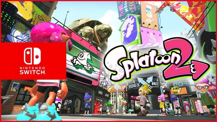 Annunciato Splatoon 2 per Nintendo Switch